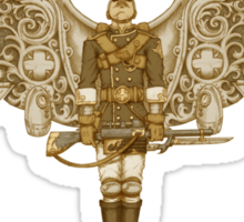 Steampunk T-shirt Peregrine 1 Sticker
