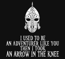 I Took an Arrow in the Knee by Faniseto