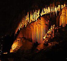 Jewel Cave, Margaret River, Western Australia by Julia Harwood