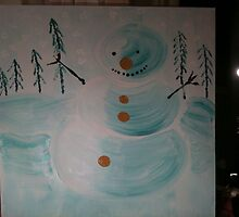Snowman , a childs dream by salvadorewoody