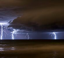 Multiple Strike off Trigg Baach by jordancantelo