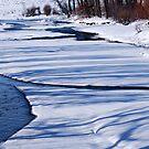 Stream ~ Snow ~ Shadows by barnsis