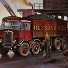 Hudsons&#x27; coal AEC tipper. by Mike Jeffries