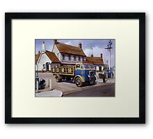 Reffells' ERF at the Woodman. Framed Print