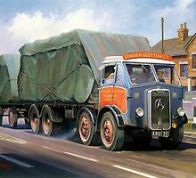 Atkinson eight-wheeler and drag. by Mike Jeffries