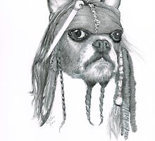 Capt. Jack Dog Sparrow by drawntoatee