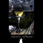 Wine on the Beach iPhone Case by Monica M. Winkler