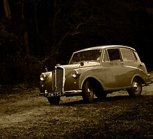 Triumph Mayflower at Cromford by Aggpup