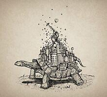 Tortoise Town Photographic Print