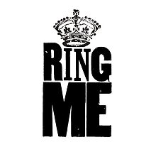 RING ME by cumbersome multiples