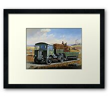 Post Office Engineering AEC. Framed Print