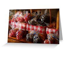 Food - Candy - Licorice Bites Greeting Card