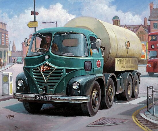 ICI Foden tanker by Mike Jeffries