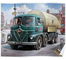 ICI Foden tanker Poster