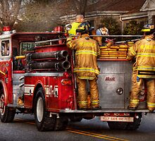 Fireman - Metuchen Fire Department  by Mike  Savad