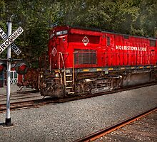 Train - Diesel - Morristown Erie  by Mike  Savad
