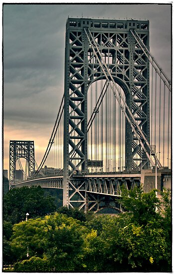 George Washington Bridge by Forrest Harrison Gerke