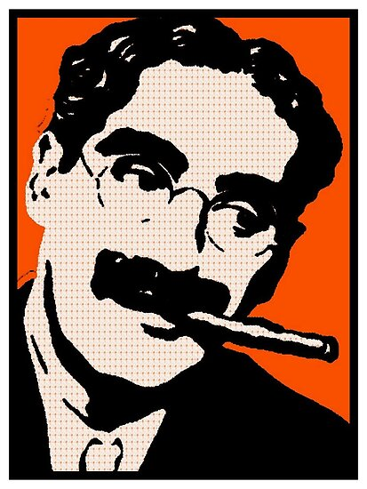 GROUCHO MARX by OTIS PORRITT