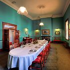Customs House Dining Room  Brisbane  Queensland by William Bullimore