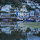 Looe Harbour by Jennie Anderson