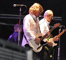 Francis Rossi and Rick Parfitt of Status Quo by Jennie Anderson