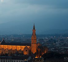Night View of Florence by catiapancani