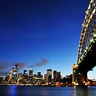 Harbour Bridge Vs The City  by Peter Billiau