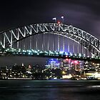 Sydney Harbour Bridge by Peter Billiau