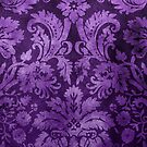 Purple Decorative Vintage Flowers by Rewards4life