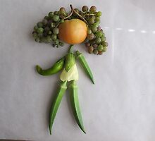 Playing With Vegetables by Marianne C. Wille