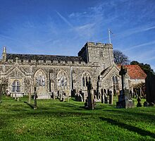 St Peter's Church, Boughton Monchelsea by Dave Godden