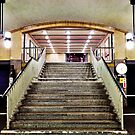 Underground Station by Ulf Buschmann