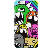 Monster Rainbow Graffiti iPhone Case iPhone Case/Skin