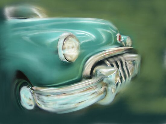 Toothy Buick by scat53