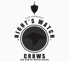Night's Watch Sports Badge by liquidsouldes