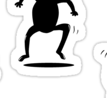 Ninjas are Better than Pirates Mini Stickers Pack Sticker