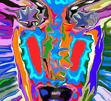 Colorful Face by ChrisButler