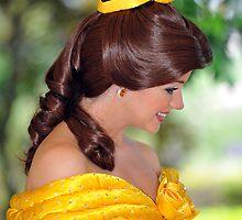 Belle at Hong Kong Disneyland. (2) by Ralph de Zilva