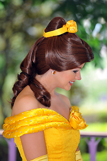 Belle at Hong Kong Disneyland. (2) by Ralph de Zilva