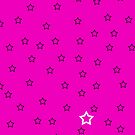 Stars with a Single White v7 - Pink by HighDesign