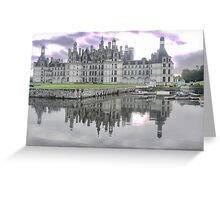The Sentinels of Chambord (8) Greeting Card