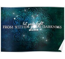 Let Your Light Shine Poster