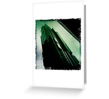 Inside the Matrix Greeting Card