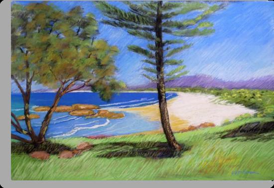 South West Rocks # 3 by Virginia McGowan