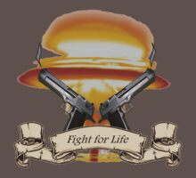 Fight for Life - T-Shirt by tottenham07