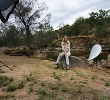 Behind the scenes - Jacinta by Nigel Donald