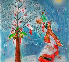 Merry X'mas, my tiny friend... by saripin