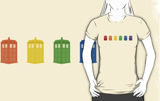 Show Your Tardis - No Text by Liev