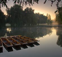 River Cam sunrise by Ian Merton