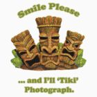 Tiki Tee by Gary Kenyon